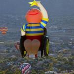 Author: Ben Blass Place: Albuquerque International  Balloon Fiesta (USA)